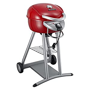 Char-Broil TRU Infrared Patio Bistro Electric Grill, Red