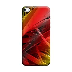 Skintice Designer Back Cover with direct 3D sublimation printing for Apple iPhone 5C