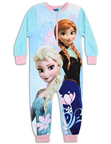 Il regno di ghiaccio - Frozen - Pigiama Intero Manica Lunga in Pile-Bambine e ragazze