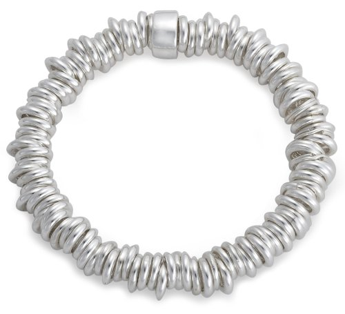 Elastic Stretch Bracelet, Sterling Silver, Model 8.25.8811