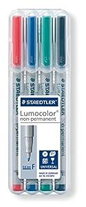 Staedtler Lumicolor Feutres non permanents pour rétroprojecteur 0,6 mm