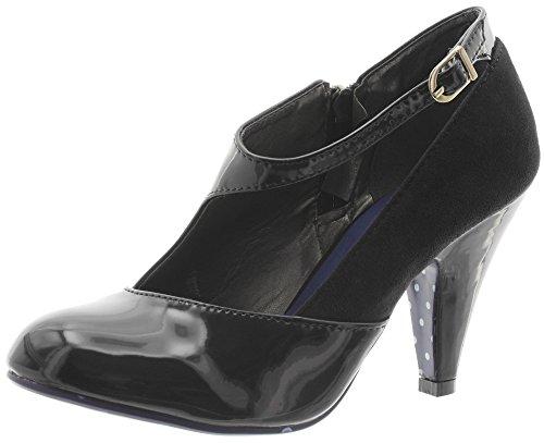 Banned, Scarpe col tacco donna, Nero (nero), 36