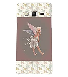PrintDhaba Angel D-3682 Back Case Cover for SAMSUNG Z3 (Multi-Coloured)