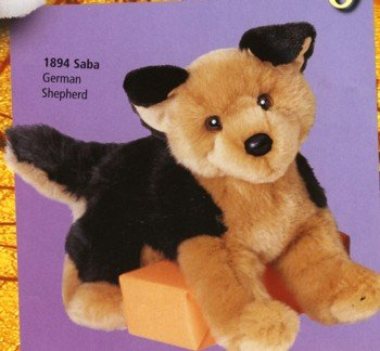 Plush Saba German Shepherd