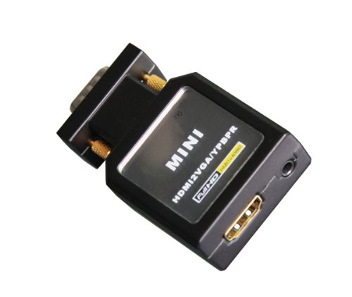 mini HDMI zu VGA, YPBPR, Spdif, Audio Konverter USB, bis Full HD 1080p, CM3-NW-036