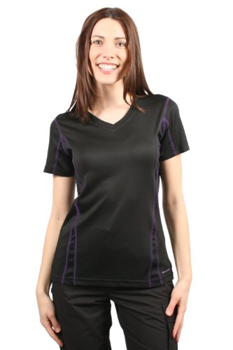 Mountain Warehouse Womens Swish Short Sleeve Tee Shirt