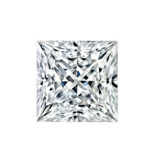 Moissanite Princess 3.5 mm .25 carats 57 facets - SPECIAL ORDER SIZE. TAKES 1-2 WEEKS TO SHIP. CANNOT BE RETURNED