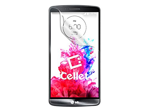 Cellet Super Strong Maximum Protection Screen Protector For Lg G3 - Retail Packaging - Clear