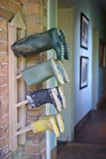 Wall Mounted Wellington Boot Rack