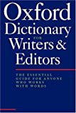 Image of The Oxford Dictionary for Writers and Editors