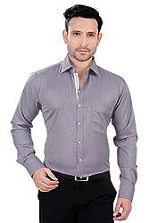 Alanti Cotton Solid Formal Shirt for Men