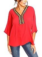 La Belle Francaise Blusa Solene (Rojo)