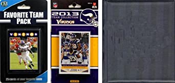 NFL Minnesota Vikings Licensed 2013 Score Team Set and Favorite Player Trading Card... by C&I Collectables