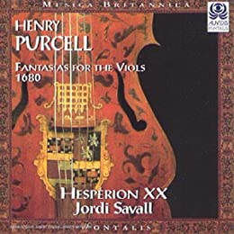 Henry Purcell : Fantaisies pour violes, 1680