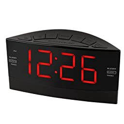 Onn Digital AM/FM Clock Radio