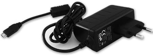 EasyAcc® Micro USB 5V 2A AC Aufladegerät Ladegeräte EU Adapter für fast alle Smartphones, Handys & Android Tablet PCs, MP3 MP4 GPS, Bluetooth Lautsprecher, Farbe: Schwarz