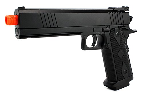 Armed Defense 2022B Electric Blowback Airsoft Pistol Full & Semi Automatic Aep Fps-180 W/ Realistic Blowback Action, Integrated Hop Up