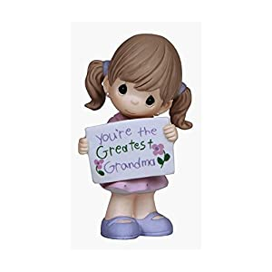 Precious Moments Doll Gift You're The Greatest Grandma
