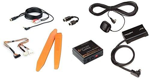 Satellite radio interface and Aux input for many 03+ Honda/Acura PLUS SiriusXM tuner/antenna kit PLUS dash trim tools (3 item Bundle) (03 Honda Accord Lx Radio compare prices)