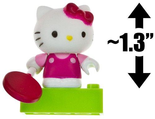 """Hello Kitty w/ a Lollipop ~1.3"""" Mini-Figure: The World of Hello Kitty Mega Bloks Figure Series [07]"""