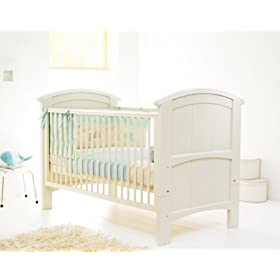 Cosatto Hogarth Cot bed-Cream + FREE Mattress