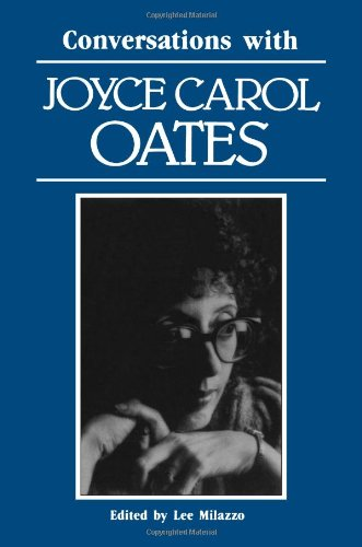Buy Conversations with Joyce Carol Oates Literary Conversations087805474X Filter