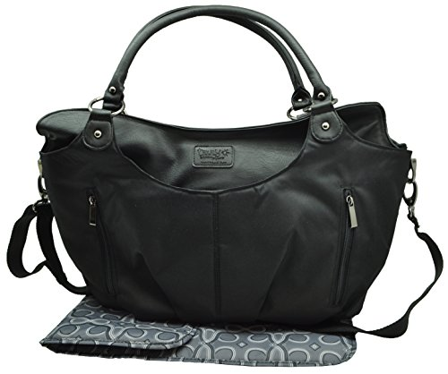 Heidi Klum Truly Scumptious Hobo Diaper Bag Black