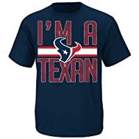 Houston Texans Fantasy Leader II Blue T Shirt by VF by VF