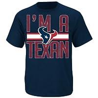 Houston Texans Fantasy Leader II Blue T Shirt by VF by VF