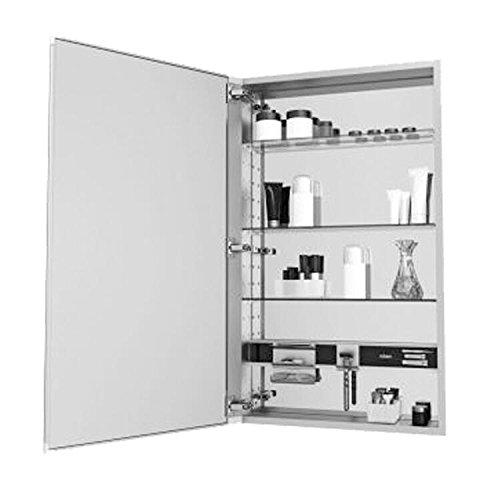 Robern MC2030D620L M-Series Decorative Cabinet with Glass Door, Black