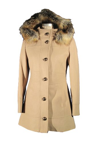 halifax-traders-damen-kurzmantel-all-over-druck-43318-gr-42-xl-beige-lt-camel
