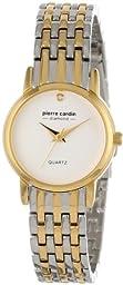 Pierre Cardin Women\'s PC900922001 Classic Analog Diamond Accents Watch