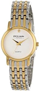 Pierre Cardin Women's PC900922001 Classic Analog Diamond Accents Watch