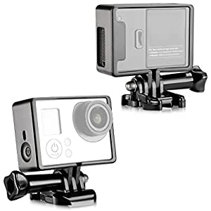 Neewer NeewerCamera Standard Frame Mount Housing with Mounting Base and Bolt Screw for GoPro Hero 4/3+/3
