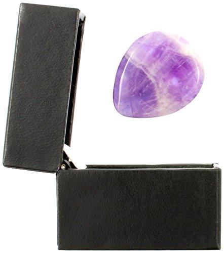 Jewel-Tones-Amethyst-Einzelne-Plektrum-in-einer-Geschenk-Box