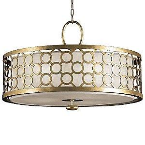 Allegretto 780140 Drum Pendant by Fine Art Lamps