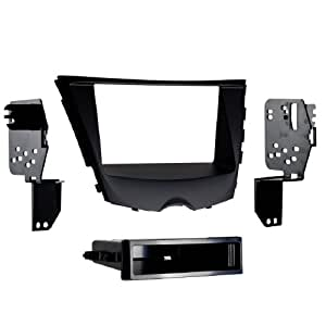 Metra 99-7350B 2012-Up Hyundai Veloster ISO Single/Double DIN Installtion Kit with Pocket