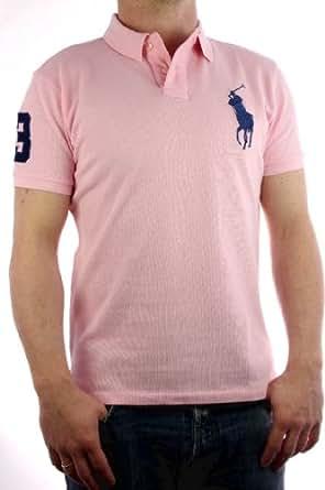 Ralph Lauren - Polo by Ralph Lauren Big Pony Rose-bleu - Homme - 3XL