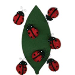 Martha Stewart Crafts Stickers, Dimensional Ladybug Pom Pom
