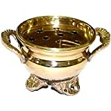 Brass Cauldron Burner For Resin Incense