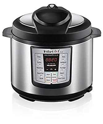 Instant Pot IP-LUX60 6-in-1 Programmable Pressure Cooker, 6-Quart 1000-Watt from Double Insight Inc. DBA