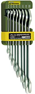 Proxxon 23800 Doppel-Maulschlüsselsatz, 8-teilig von 6 x 7 bis 20 x 22 mm