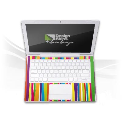 Design Skins für Medion Akoya MD 96970 Tastatur - Watercolour Stripes Design Folie
