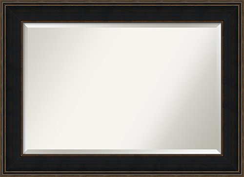 Wall Mirror Extra Large, Mezzanine Espresso Wood: Outer Size 44 x 32