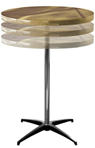 Cheap Adjustable Coffee Table Round Alulite Adjustable - Adjustable height cocktail table
