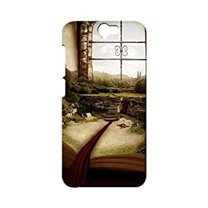 BLUEDIO Designer Printed Back case cover for HTC One A9 - G2598