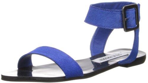Steve Madden Women'S Flexi-P Dress Sandal,Blue Pony,7 M Us front-924442