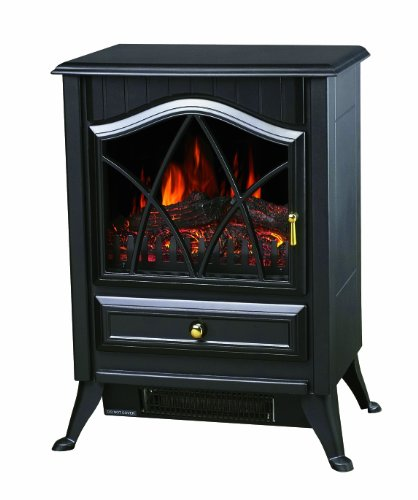 Comfort Glow ES4215 The Ashton Compact Electric Stove, 5200 BTU, Black
