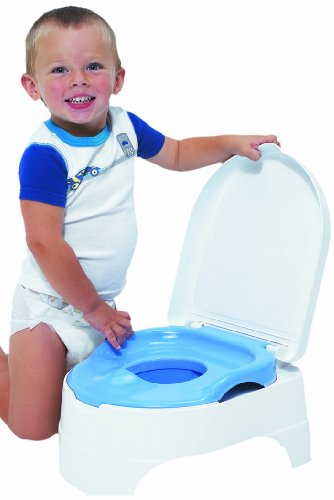 Summer Infant Potty Seat & Step Stool - Blue - 1