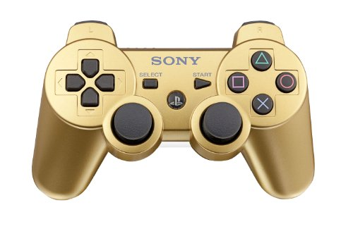 PlayStation 3 DualShock 3 wireless controller - Metallic Gold (Gold Controller compare prices)